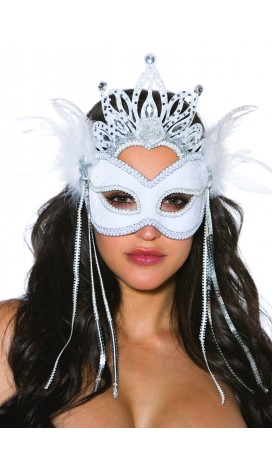 MASK VELVET SILVER ICE QUEEN